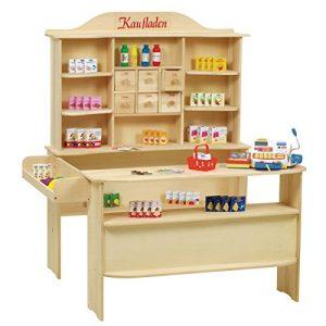 Roba Kaufladen aus Holz inklusive Kaufladenzubehör - 1