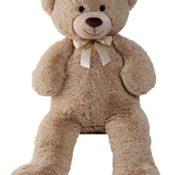 XXL Teddybär 1m Hellbraun Kuschelbär Kuscheltier Stofftier Bär Teddy - 1